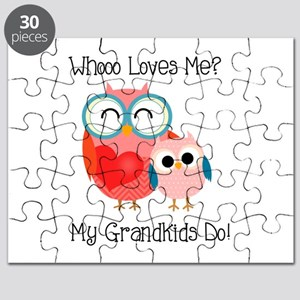 Owl Grandkids Puzzle