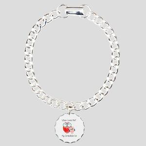 Owl Grandkids Charm Bracelet, One Charm