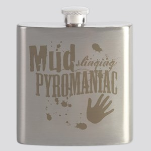 Mud Slinging Pyromaniac Flask