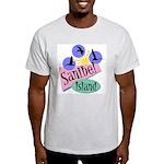 Sanibel Retro Pelicans - Light T-Shirt