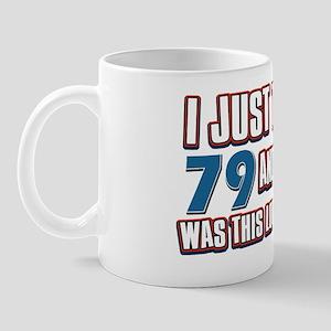 79 yr Mug