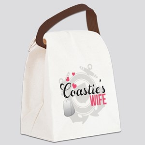 Coastie's Wife Canvas Lunch Bag