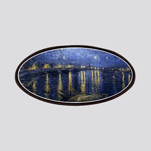 Starry Night Over the Rhone - Van Gogh - c1888 Pat