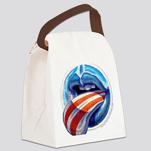 Oblahma Obama Logo Canvas Lunch Bag