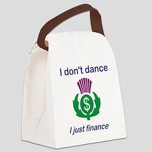 Dance Parent t-shirt Canvas Lunch Bag