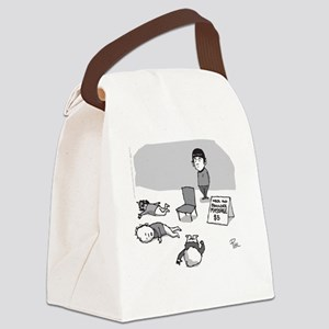 Vulcan Massage Canvas Lunch Bag