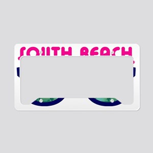 South Beach Miami License Plate Holder