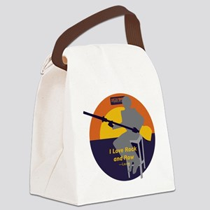 Rock and Row Canvas Lunch Bag