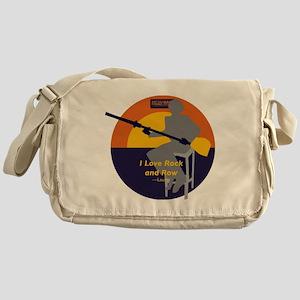 Rock and Row Messenger Bag