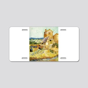 The Old Mill - Van Gogh - c1888 Aluminum License P
