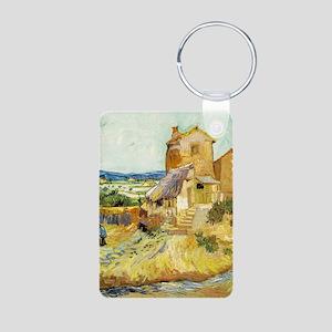 The Old Mill - Van Gogh - c1888 Aluminum Photo Key