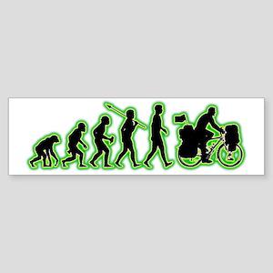Bicycle-Traveller4 Sticker (Bumper)