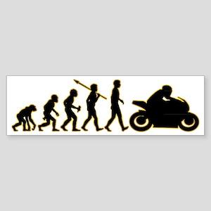 Bike-Rider3 Sticker (Bumper)