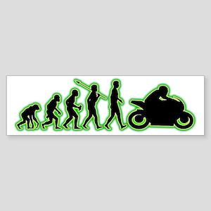 Bike-Rider4 Sticker (Bumper)