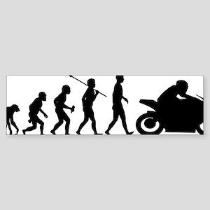 Bike-Rider Sticker (Bumper)