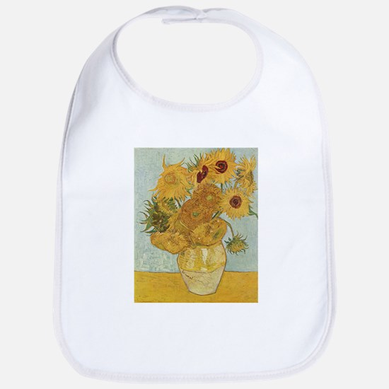 Vase with 12 sunflowers - Van Gogh - c1888 Cotton