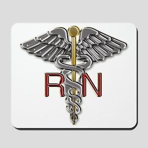 RN Medical Symbol Mousepad