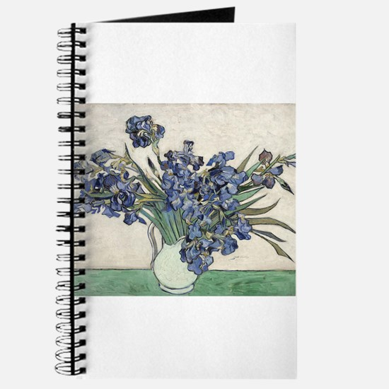 Vase with Irises - Van Gogh - c1890 Journal