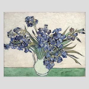 Vase with Irises - Van Gogh - c1890 Small Poster
