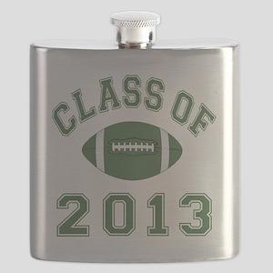 Class Of 2013 Football Flask