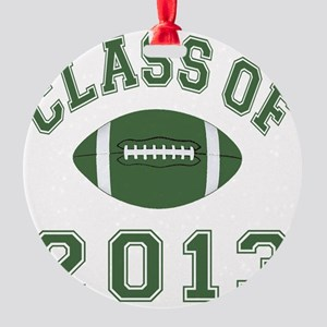 Class Of 2013 Football Round Ornament