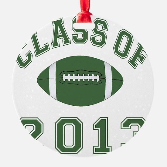 Class Of 2013 Football Ornament