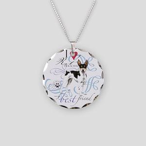 rat T1 Necklace Circle Charm