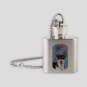 rat T Flask Necklace