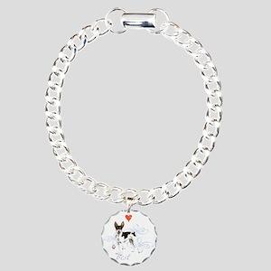 rat T1-K Charm Bracelet, One Charm