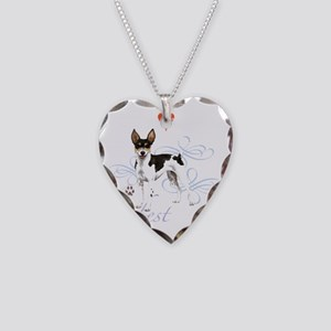 rat T1-K Necklace Heart Charm