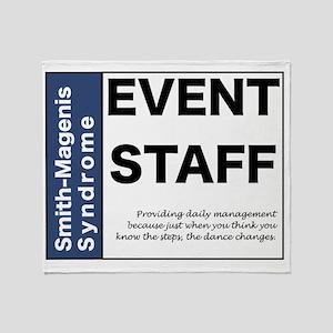 Event Staff Throw Blanket