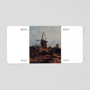 Windmills on Montmartre - Van Gogh - c1886 Aluminu