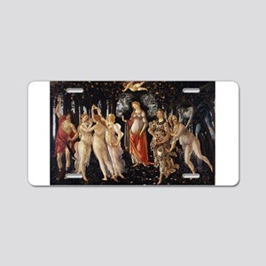 Spring - Botticelli Aluminum License Plate