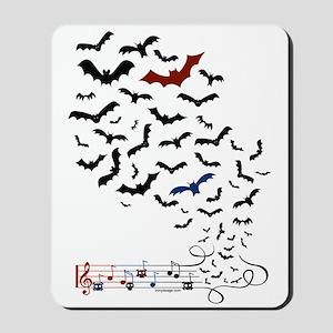 Bat Music Design Mousepad