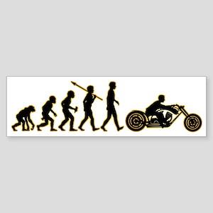 Motorcycle3 Sticker (Bumper)