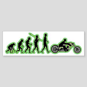 Motorcycle4 Sticker (Bumper)