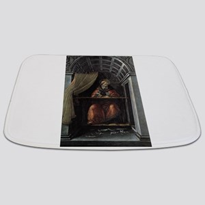 St. Augustine in His Cell - Botticelli Bathmat
