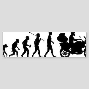 Motorcycle-Traveller Sticker (Bumper)
