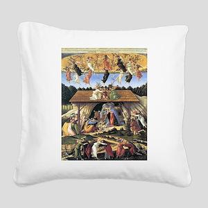 The Mystical Nativity - Botticelli Square Canvas P