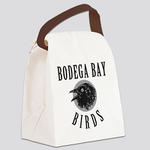 Bodega-Bay-School-Birds Canvas Lunch Bag