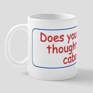 Train of thought Mug