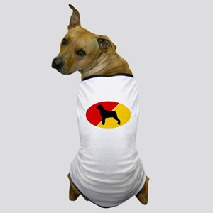 German Flag Rottie Dog T-Shirt