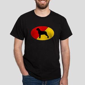 German Flag Rottie Dark T-Shirt
