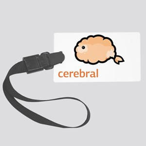 Cerebral Gardens Large Luggage Tag