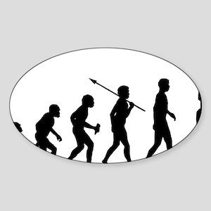 Pole-Dancing Sticker (Oval)