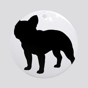 b14c97592e9 Black French Bulldog Ornaments - CafePress