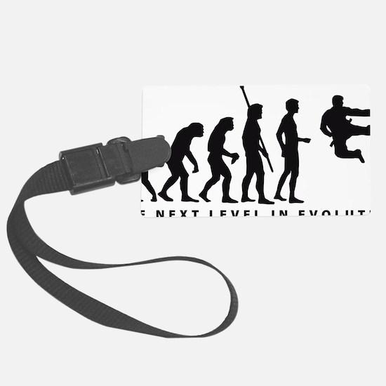 evolution karate Luggage Tag