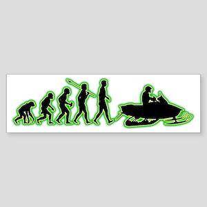 Snowmobile4 Sticker (Bumper)