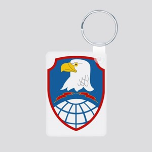 SSI - US - Army Space  Mis Aluminum Photo Keychain