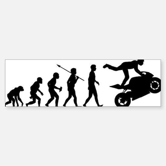 Stunt-Rider Sticker (Bumper)